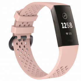 Fitbit Charge 3 Armband - beigerosa - S