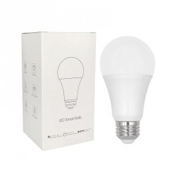 WLAN Smart LED Glühlampe RGB Multicolor und Dimmer 7.5W E27