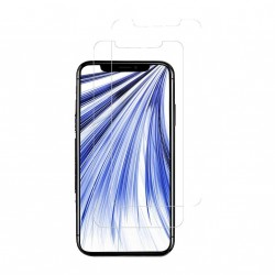Display-Schutzglas für iPhone XR - gehärtetes Glas - 2er-Pack - transparent